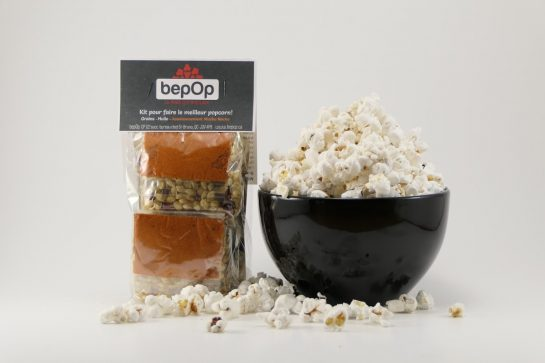 Kit à popcorn – Mucho nacho – Emballage double